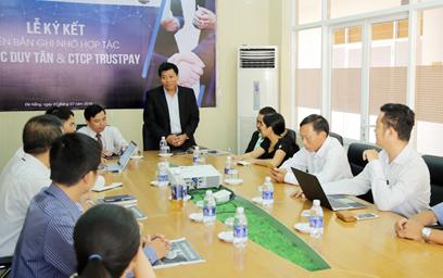 Lễ Ký kết Biên bản Ghi nhớ Hợp tác giữa DTU và Công ty Cổ phần Trustpay