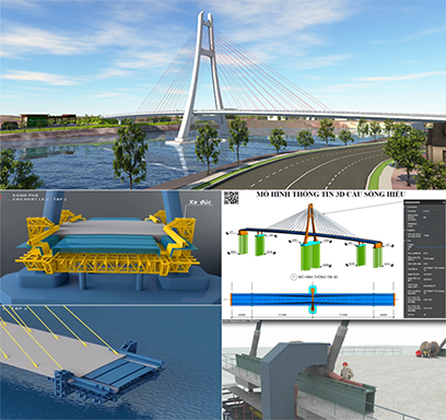 """Đồ án """"Cầu Sông Hiếu"""" giành giải Nhì Loa Thành 2018  của sinh viên Hồ Phụng Hoàn, ĐH Duy Tân"""