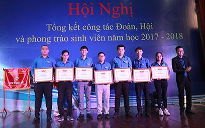 Hội nghị Tổng kết Công tác Đoàn và Phong trào Sinh viên Năm học 2017 - 2018