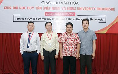 Giao lưu Văn hóa với Đại học Binus (Indonesia)