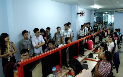 Sinh viên Duy Tân Tham quan Thực tế các Doanh nghiệp