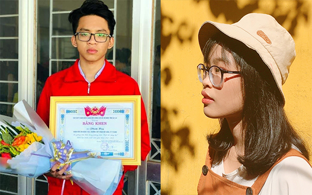 Winners in the National and Provincial Excellent Student Contest admitted directly to DTU